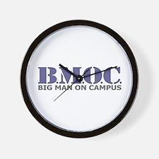 BMOC (Big Man On Campus) Wall Clock