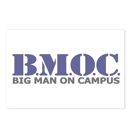 BMOC (Big Man On Campus) Postcards (Package of 8)