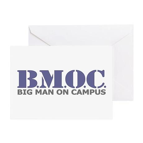 BMOC (Big Man On Campus) Greeting Card