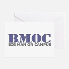 BMOC (Big Man On Campus) Greeting Card