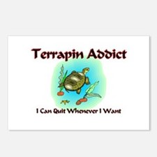 Terrapin Addict Postcards (Package of 8)