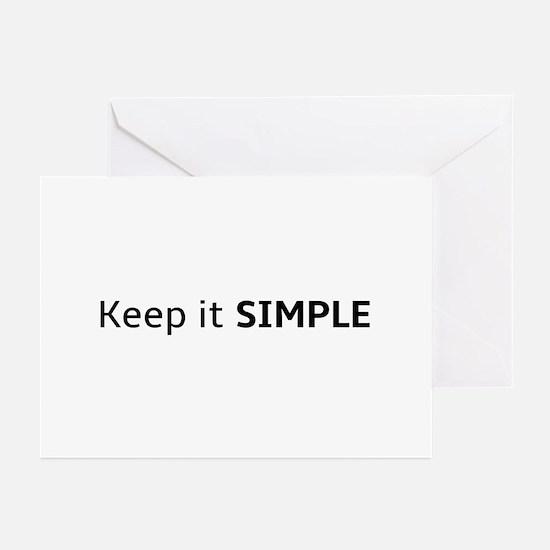 Keep It Simple Greeting Cards