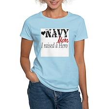 Navy Raised Hero T-Shirt