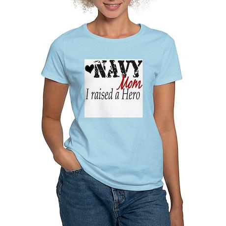 Navy Raised Hero Women's Light T-Shirt