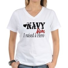 Navy Raised Hero Shirt