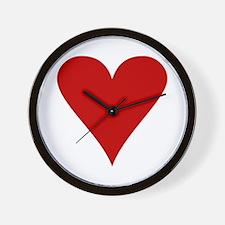 Hearts! Wall Clock