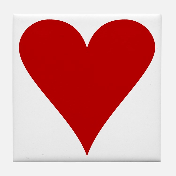 Hearts! Tile Coaster