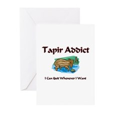 Tapir Addict Greeting Cards (Pk of 10)