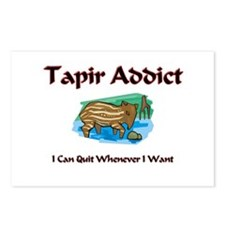Tapir Addict Postcards (Package of 8)