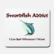 Swordfish Addict Mousepad