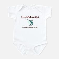 Swordfish Addict Infant Bodysuit