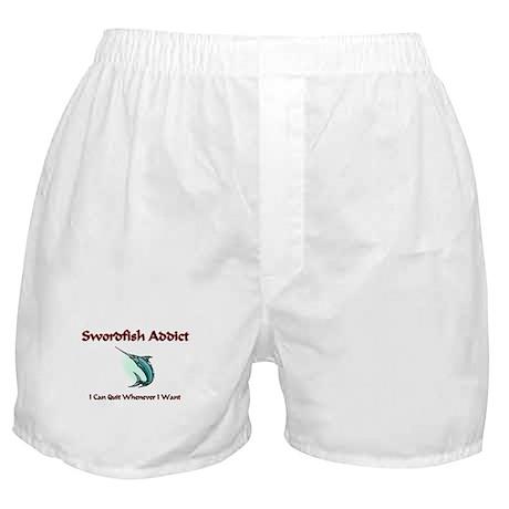 Swordfish Addict Boxer Shorts