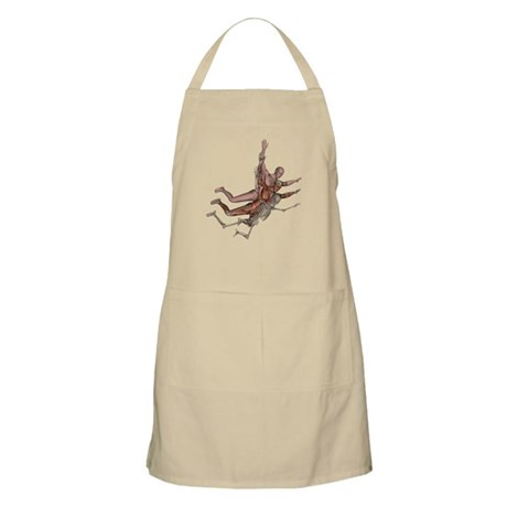 Muscles, Bones and Skin BBQ Apron