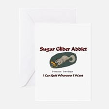 Sugar Glider Addict Greeting Cards (Pk of 10)