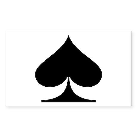 Spades! Rectangle Sticker