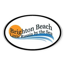 Brighton Beach Oval Decal