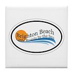 Brighton Beach Tile Coaster