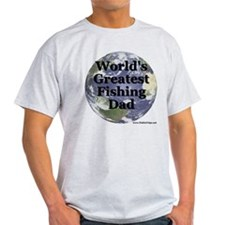 """World's Greatest Fishing Dad"" T-Shirt"