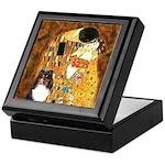 Kiss/Tri Color Sheltie Keepsake Box