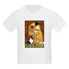 Kiss/Tri Color Sheltie T-Shirt