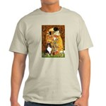 Kiss/Tri Color Sheltie Light T-Shirt