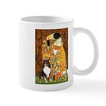 Kiss/Tri Color Sheltie Mug