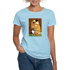 Kiss/Tri Color Sheltie Women's Light T-Shirt