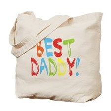 Best Daddy Tote Bag