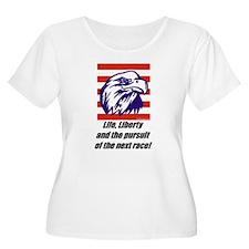 """""""The Next Race!"""" T-Shirt"""