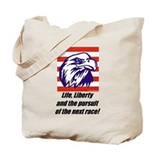 """""""The Next Race!"""" Tote Bag"""