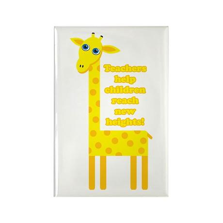 Cute Teacher Gift Rectangle Magnet (10 pack)