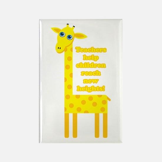 Cute Teacher Gift Rectangle Magnet (100 pack)