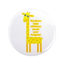 """Cute Teacher Gift 3.5"""" Button"""