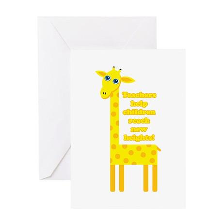 Cute Teacher Gift Greeting Card