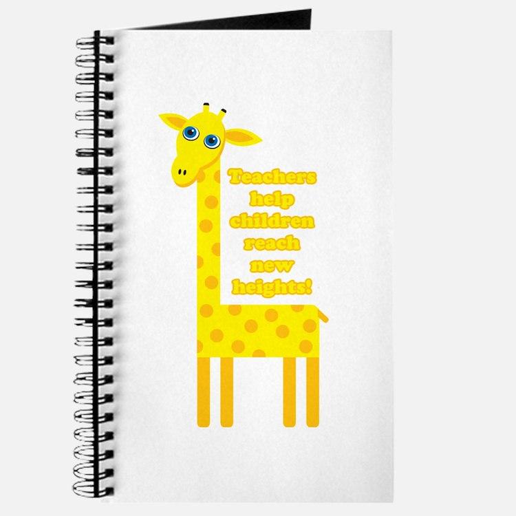 Cute Teacher Gift Journal