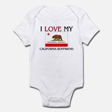 I Love My California Boyfriend Infant Bodysuit