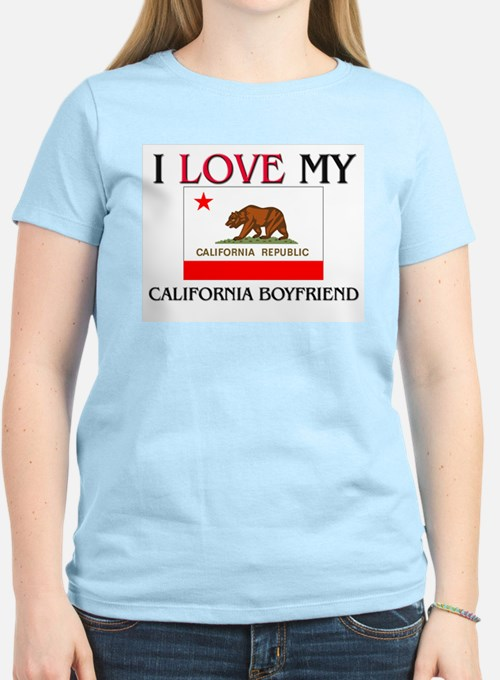 I Love My California Boyfriend T-Shirt