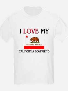 I Love My California Boyfriend T-Shirt