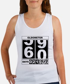 60th Birthday Oldometer Women's Tank Top