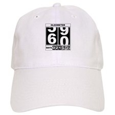 60th Birthday Oldometer Baseball Cap