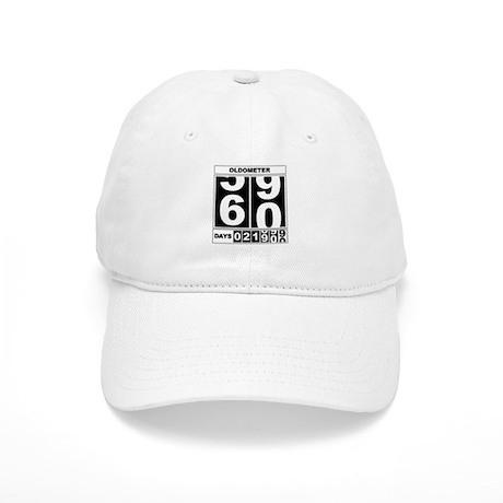 60th Birthday Oldometer Cap