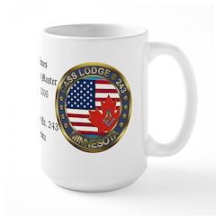 Masonic rtj WM Personalized Mug