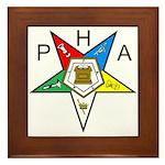 PHA Eastern Star Framed Tile
