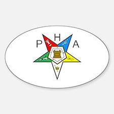 PHA Eastern Star Sticker (Oval)