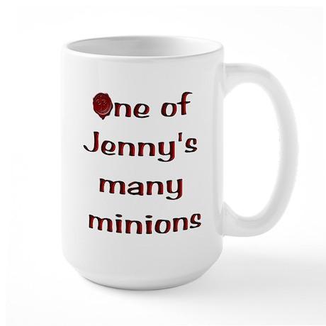 Many Minions Large Mug