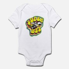 70'S Super Bee Distressed Infant Bodysuit