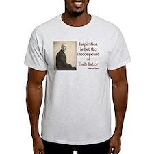 Maurice Ravel Inspiration and Labor T-Shirt
