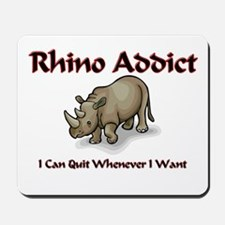 Rhino Addict Mousepad