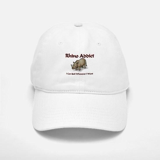 Rhino Addict Baseball Baseball Cap