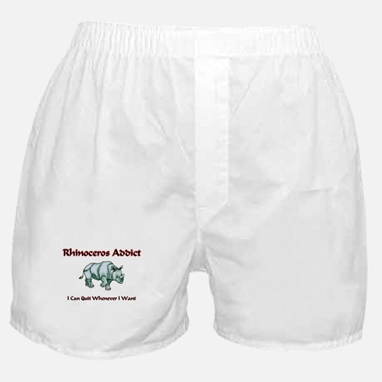 Rhinoceros Addict Boxer Shorts